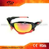 Deportes revestimiento de espejo irrompible estilo gafas de sol polarizadas lente disponible gafas de sol para niños y niñas