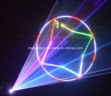 Ilda Ttl 40K 5W RGB 풀 컬러 애니메니션 DMX 512 단계 레이저 광