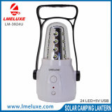 Portable Accueil Eemgency light 24 LED avec batterie rechargeable