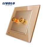 Groupe Livolo UK Standard de 1 mur Prise audio Vl-W291A-11/12/13
