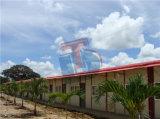 鉄骨構造のプレハブの家フィリピン