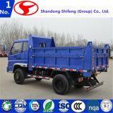 2.5 90 do cavalo-força Shifeng Fengshun toneladas de caminhão de descarregador
