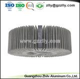 건축재료 알루미늄 해바라기 열 싱크 프레임