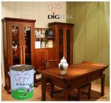ポリエステル家具のための白い木製のペンキの終わりのコーティング