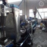 HDPE LDPE 깡통 단일 나사 압출기 과립 기계