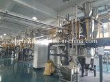 Máquina de procesamiento por lotes por lotes automática material del polvo con el pesaje del sistema transportador de mezcla
