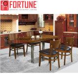 高品質(FOH-BCA03)のファースト・フードの木製のレストランのダイニングテーブルそして椅子