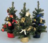 45cm украсили рождественскую елку с 20 светами