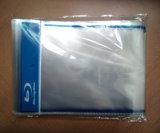 Claro Transparente CD DVD Manga OPP con el logotipo de Blue Ray