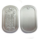 Logo personnalisé Lion Alliage de zinc moulé sous pression Dog Tag antique