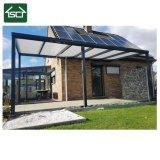 台地の日よけの日除けのための普及した装飾的なアルミニウムプロフィールのテラスの屋根