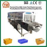 Rondella e lavatrice del cestino della scatola e del pollame di plastica dei pesci della cassa del latte di prezzi di fabbrica