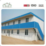 Camera prefabbricata economizzatrice d'energia della struttura d'acciaio per il magazzino dell'ufficio del dormitorio dell'operaio
