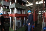De Lopende band van de Gasfles van LPG Diep/Shell de Machine van de Tekening