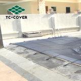 Sicherheits-Ineinander greifen Creen sicherer Filetarbeits-Deckel im Bodenswimmingpool-Deckel