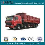 HOWO 8X4 30m3 420HP 12 짐수레꾼 덤프 트럭