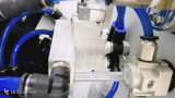 PP를 위한 컨베이어를 가진 TM-C2-P 2 색깔 패드 인쇄 기계 기계