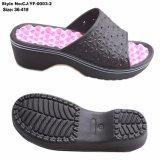 Dernière conception Diapositive sandale filles haut talon Mesdames Slipper