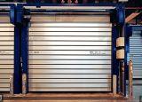 Porte coulissante à grande vitesse avec l'alliage d'aluminium (Hz-SD8218)