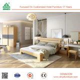 Bâti de cadre en bois réglé de contre-plaqué de la Chine Foshan Malaisie de forces de défense principale de meubles en bois modernes de chambre à coucher