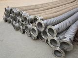 Boyau ondulé de métal flexible de qualité avec le tressage