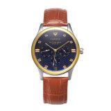 Pequeños relojes de manera verdaderos del reloj de los hombres del diseño de la dial Z374