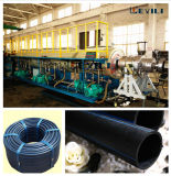 Polyethyrene 물과 가스 공급 관 압출기 기계