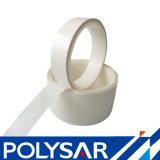 Alta Adherencia Película de poliéster transparente con cinta de papel blanco