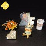 preço de fábrica esmalte programável de disco rígido metálicos Personalizado Emblema de metal para a Loja Dom