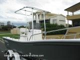 Bateau du bateau de pêche de fibre de verre de bateau de Panga de Liya 19feet FRP