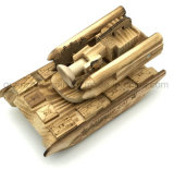 Бак автомобиля реактивного снаряда украшения игрушки высокого качества OEM деревянный