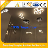 Suministros de fábrica de extrusión de aluminio perfil de aluminio de la luz de techo LED