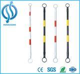 ABS van Douable de Plastic Intrekbare Staaf van de Kegel van het Verkeer voor Verkeersveiligheid