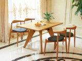 Il legno della cenere che pranza il calcolatore pranzante moderno delle presidenze di cuoio delle presidenze delle presidenze presiede la L (M-X2499)