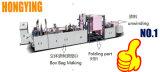 Fabricado na China Nonwoven Bag fazendo a máquina com velocidade ajustável