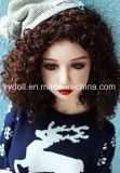 125cm 크리스마스 작풍 어린 소녀 TPE 성 인형 실리콘 금속 해골