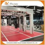 Tapetes de rolos de borracha de isolamento de ruído para ginásio Crossift Flooring