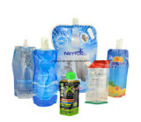 Wasser-Saft, der freien Nahrungsmittelflüssigkeit-Beutel verpackt