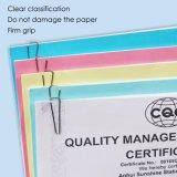 Hot Sale triangle nickel les pinces à papier de bonne qualité