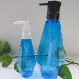 ماس شكل شعر شامبوان زجاجة مغسل حل زجاجة بلاستيك زجاجة