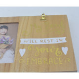 Cadre photo Golden Silk-Screen Lettre