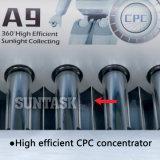 Calentador de agua solar de Suntask SS316L con el reflector del CPC
