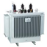tipo del petróleo 100kVA transformador de la distribución de potencia de 3 fases