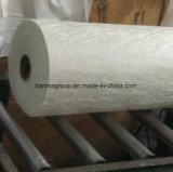 Esteira desbastada da costa do reforço fibra de vidro material