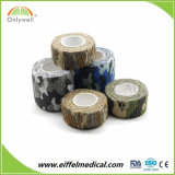 Hersteller-Lieferanten-elastische nichtgewebte Tarnung-Bindeverband