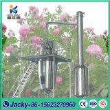 Edelstahl-große Schuppen-aromatische Pflanzenöl-Wasserdampfdestillation-Pflanze