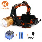 10W Most Powerful Rechargeable Zoomable High Power Headlamp