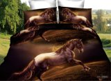 Preiswertes Pferd druckte Baumwollbettwäsche-gesetzte verschiedene Entwürfe