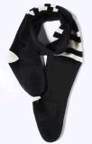 Sciarpa a pile del panno morbido del riscaldamento della sciarpa Heated - sciarpa di collo di riscaldamento nera di disegno unisex con l'inverno incorporato dell'elemento riscaldante