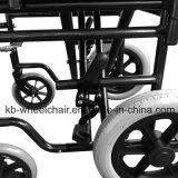 """12 """" rueda trasera, sillón de ruedas manual de acero ligero Kbw871I"""